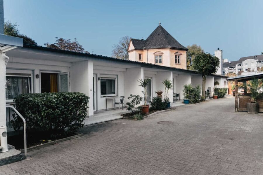 Die Apartments mit Terrasse