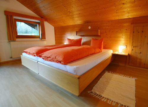 Eines der 3 Schlafzimmer des Appartments
