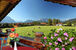 Ausblick auf Karwendel und Wetterstein