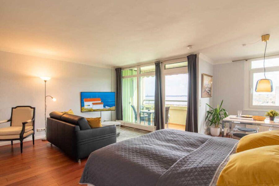 Ferienwohnung Seaside Blick auf die Kieler Förde