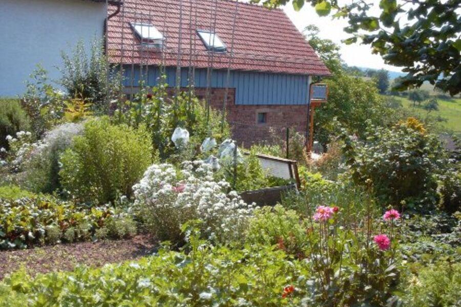 Fruchtspeicher mit Bauerngarten