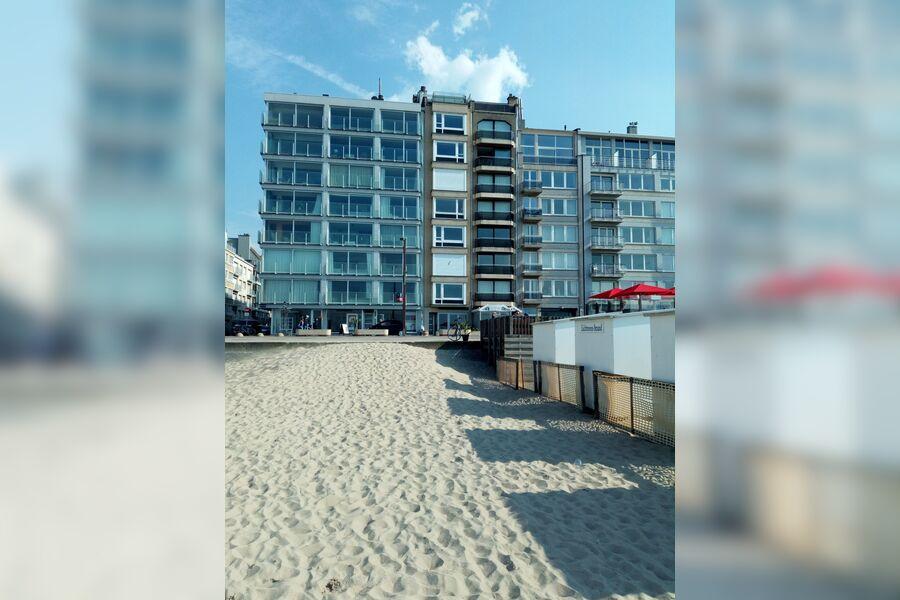 Ferienwohnung Knokke mit Meerblick