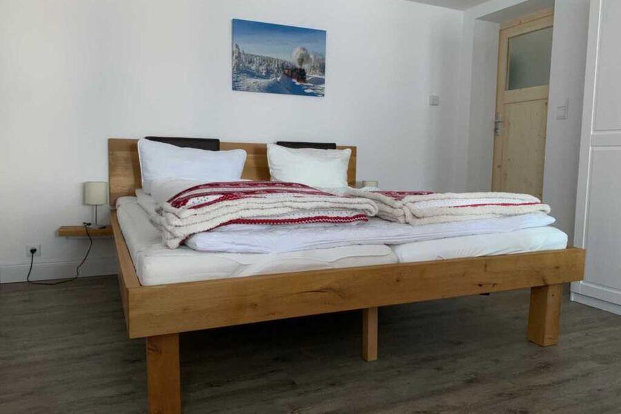 Ferienwohnung Waldweg - Wohn-Schlafraum