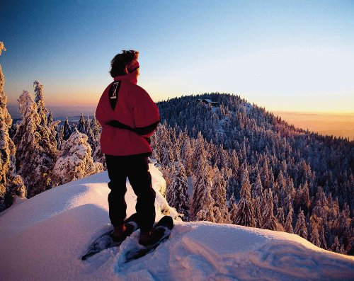 Mit Schneeschuhen auf die Berge