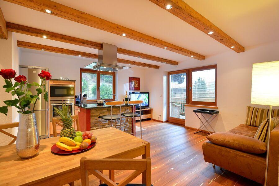 Offener Küchen-/Wohnbereich