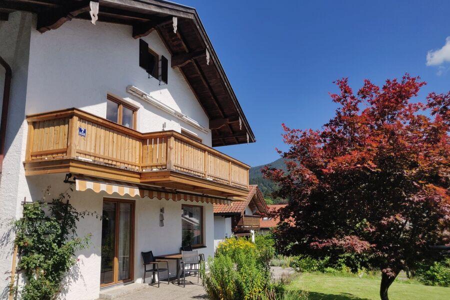 Ferienwohnung Lorenz mit Bergblick