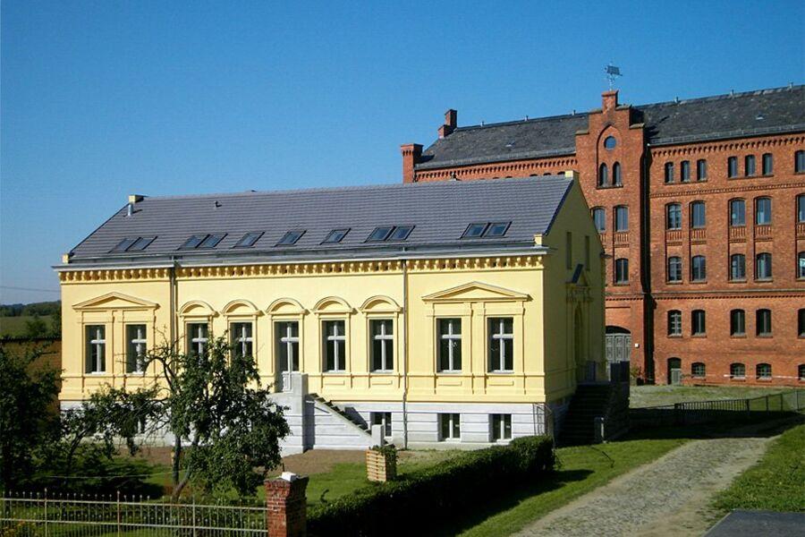 Villa und historischer Tabakspeicher