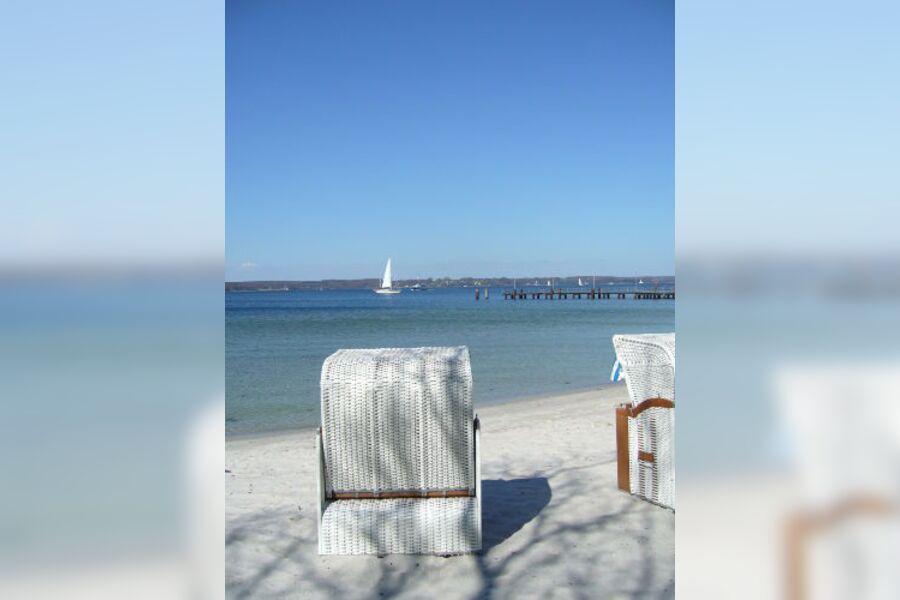 Strand bei der Ferienwohnung