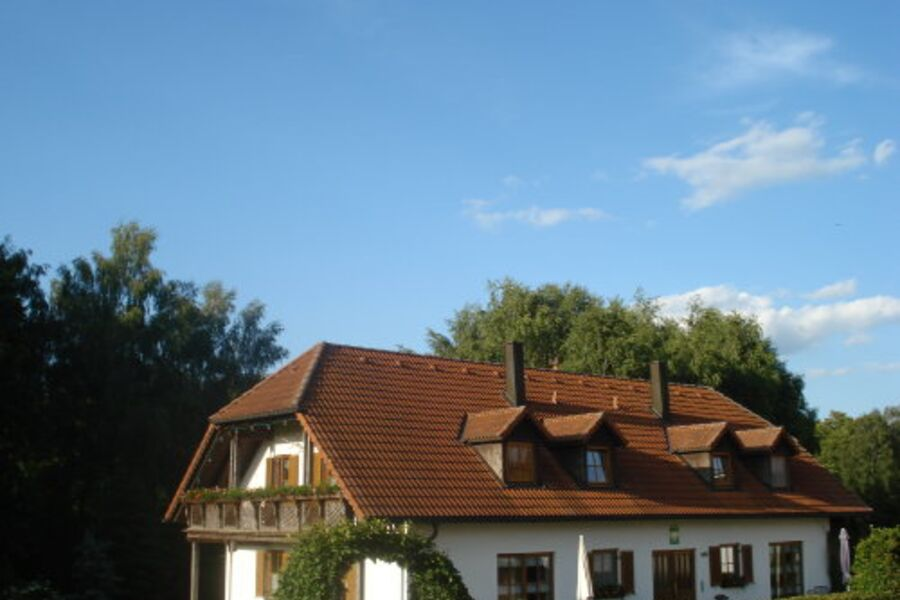 Gästehaus im Frühjahr