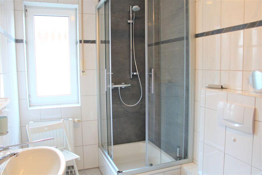 Das komfortable Duschbad mit Tageslicht