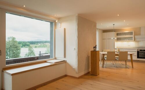 Ferienhaus 'Lebensart-am-See' - Appartement weit:Blick