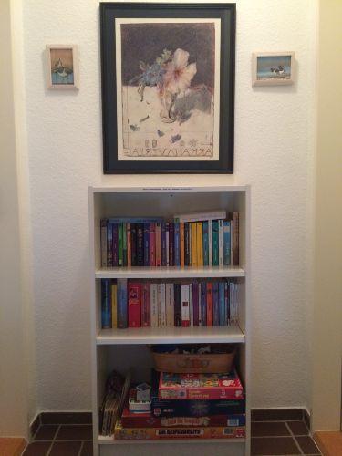 Unserer kleine Gästebibliothek
