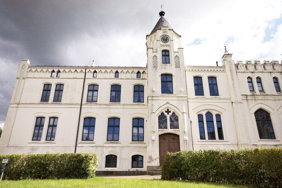 Herrenhaus Viecheln Nordansicht