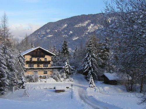 Ferienhaus Winteransicht