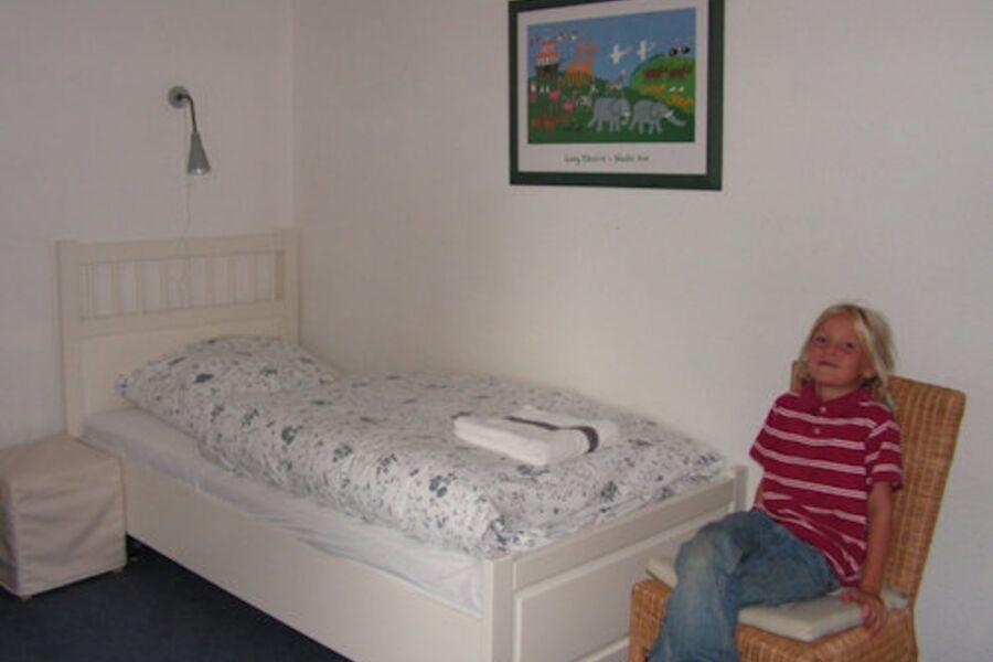 Kinderschlafzimmer in der FeWo