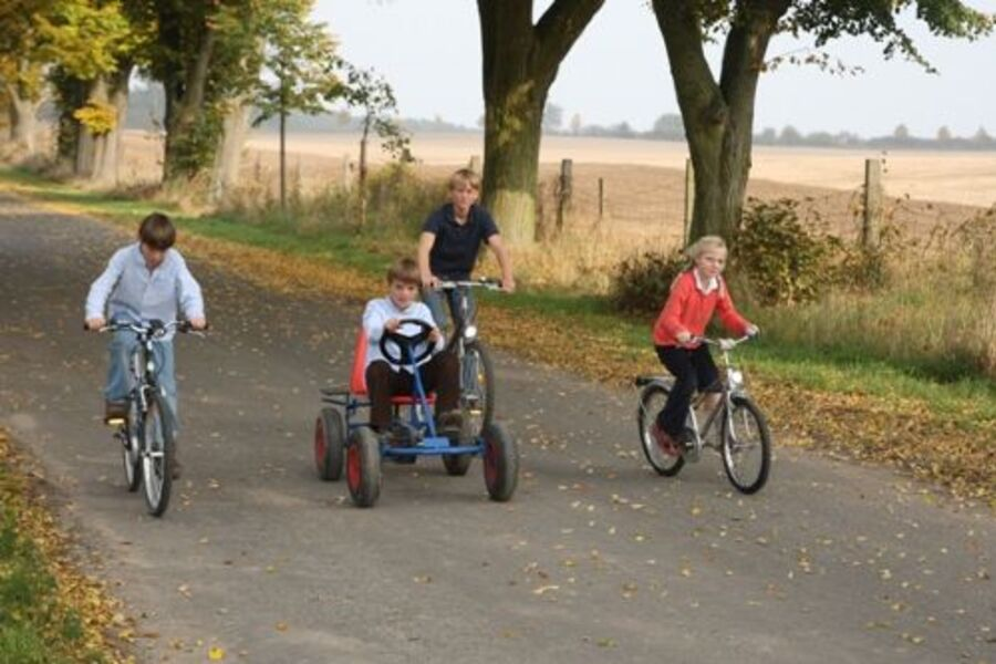 Fahrradfahren in der Uckermark