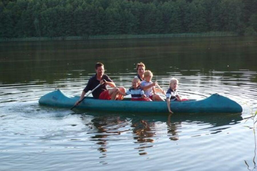Kanutour auf den Feldberger Seen
