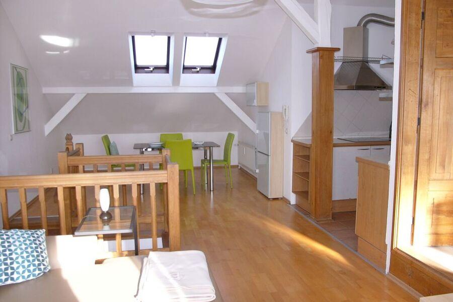 Maisonette Wohn-Ess-Zimmer