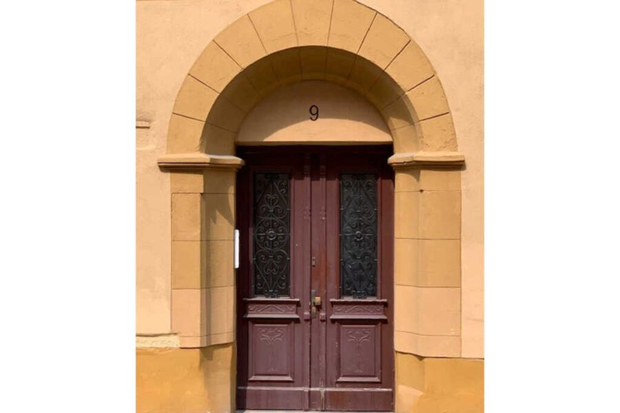 Historischer Eingang