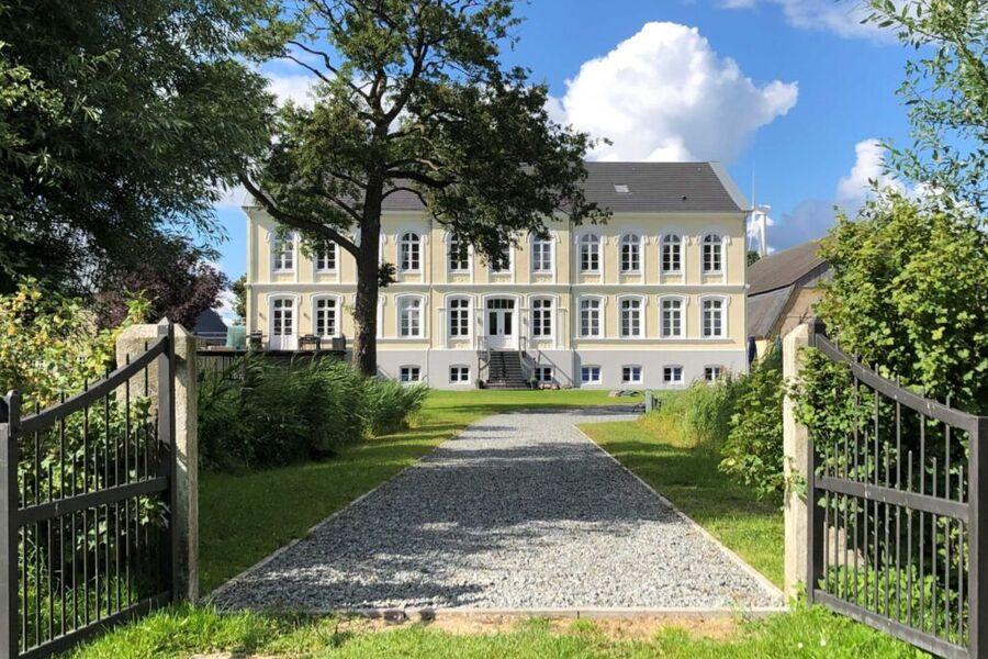 Willkommen im Herrenhaus auf Gut Oestergaard