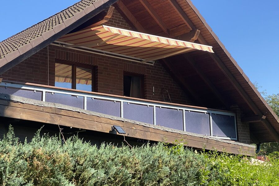 Dachgeschoßwohnung Eingang