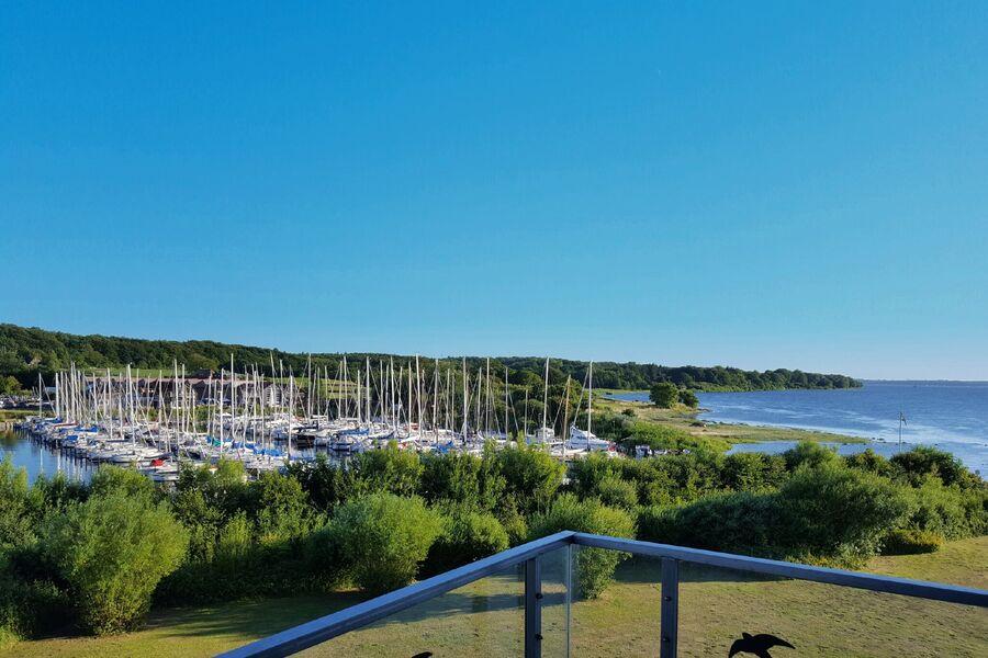 Blick vom Balkon - Ostsee & Club Nautic