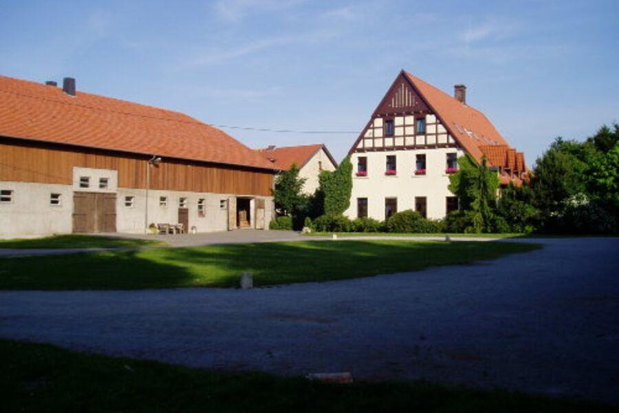 Hof Havixbeck mit Scheune und Haupthaus