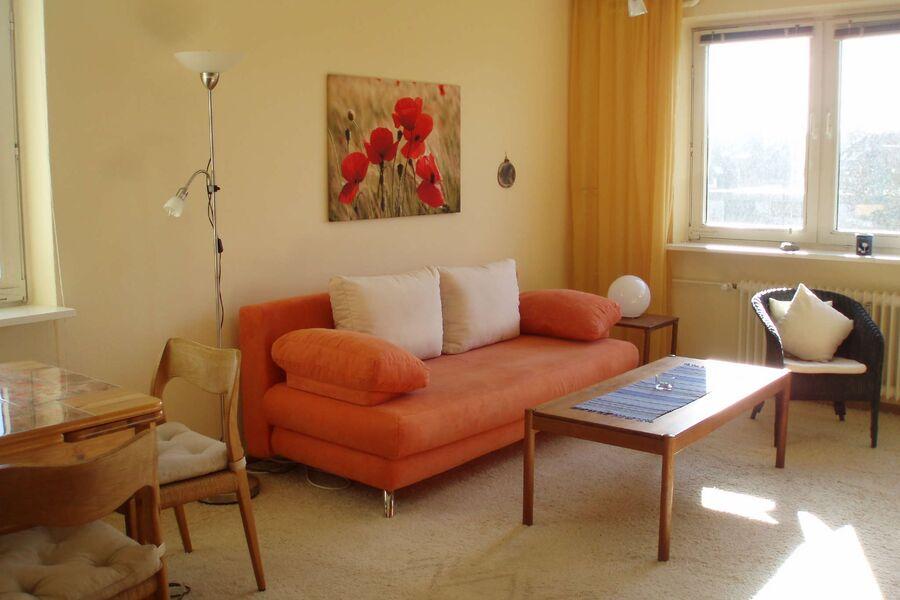 Wohnzimmer Ferienwohnung Liv