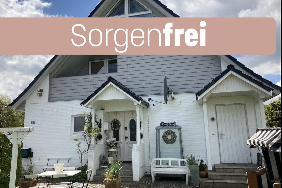 Ferienwohnung 'Sorgenfrei' mit Garten