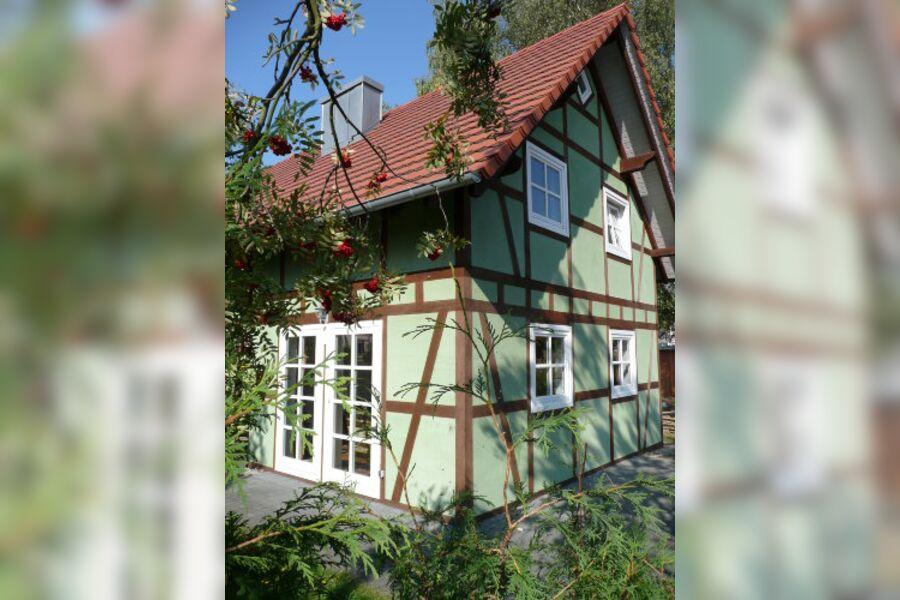 """Giebelseite """"Haus Vogelbeere"""""""