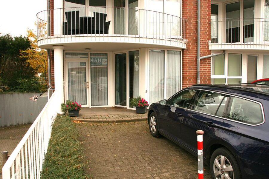 Wohnung mit Terasse und Stellplatz