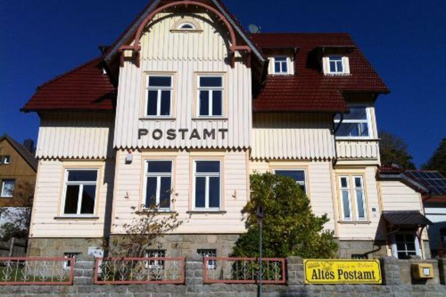 Altes Postamt-Ferienwohnungen
