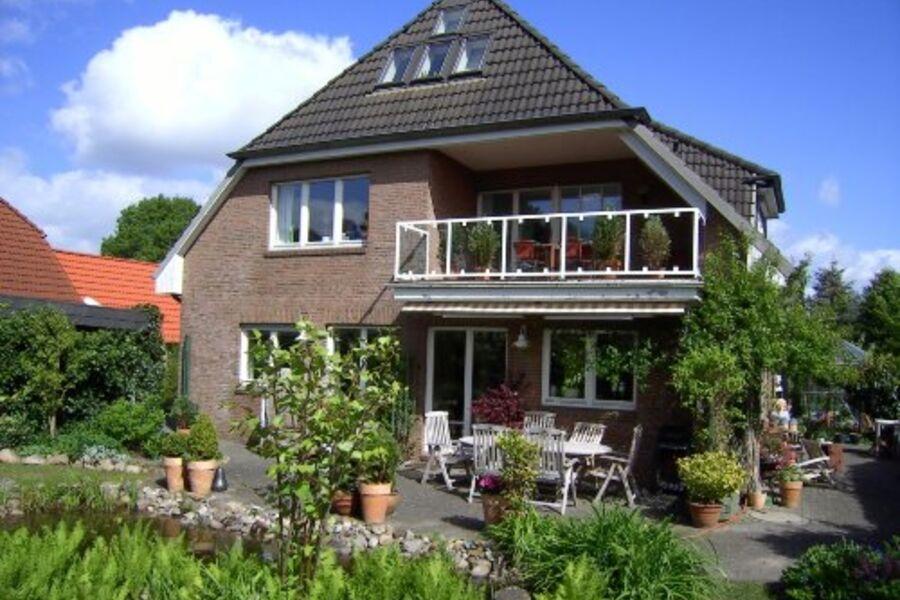 Haus Am Redder (Ansicht vom Garten)