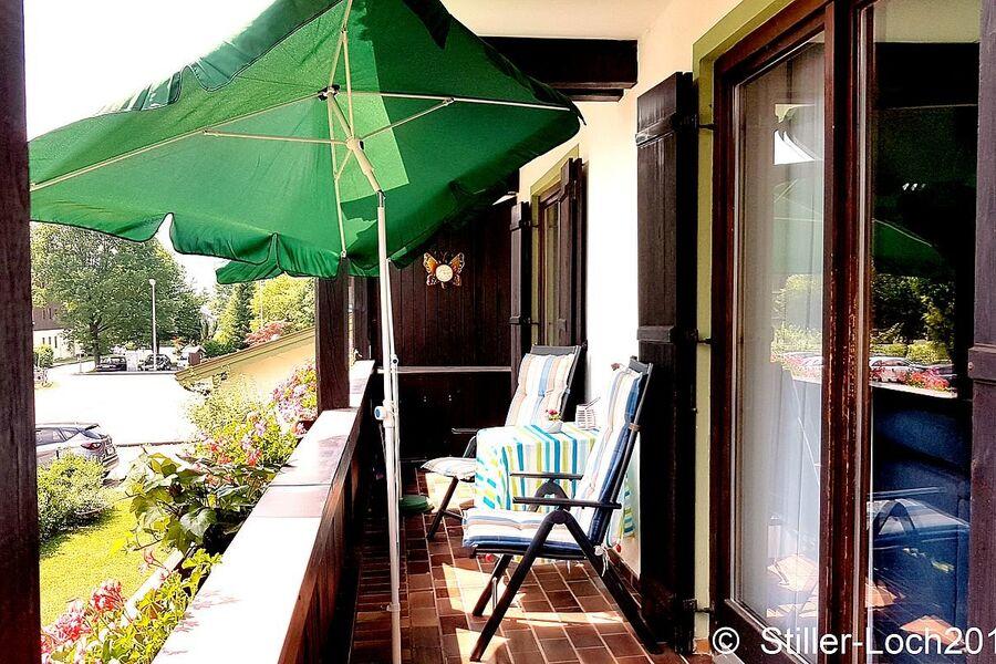 Balkon zum Relaxen mit toller Aussicht