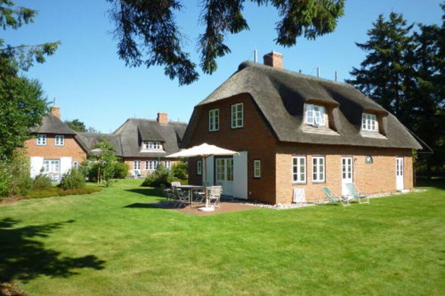 Der Garten mit Terrasse