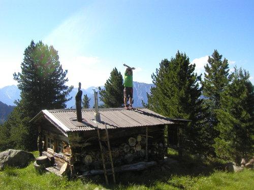 Jägerhütte auf unserem Hausberg
