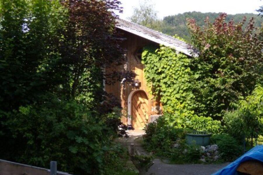 Eingang der Ferienwohnung
