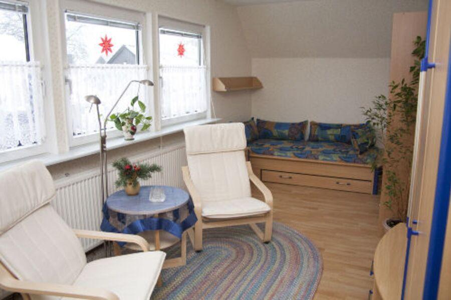 2. Wohnzimmer mit Schlafbereich 1