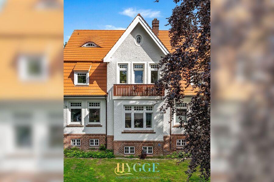 Winteransicht Villa Hygge Kappeln