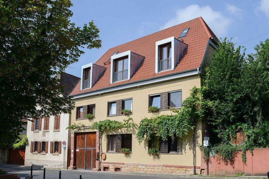Blumen im Winzerhof