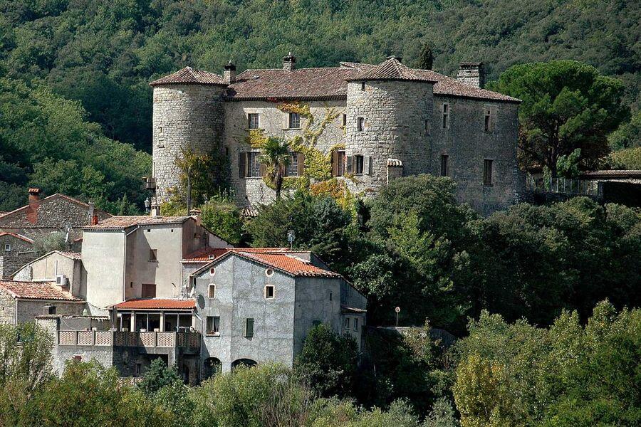 Das Château de La Tour bei Alès