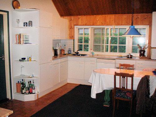 Die Küche - rundum perfekt ausgestatt