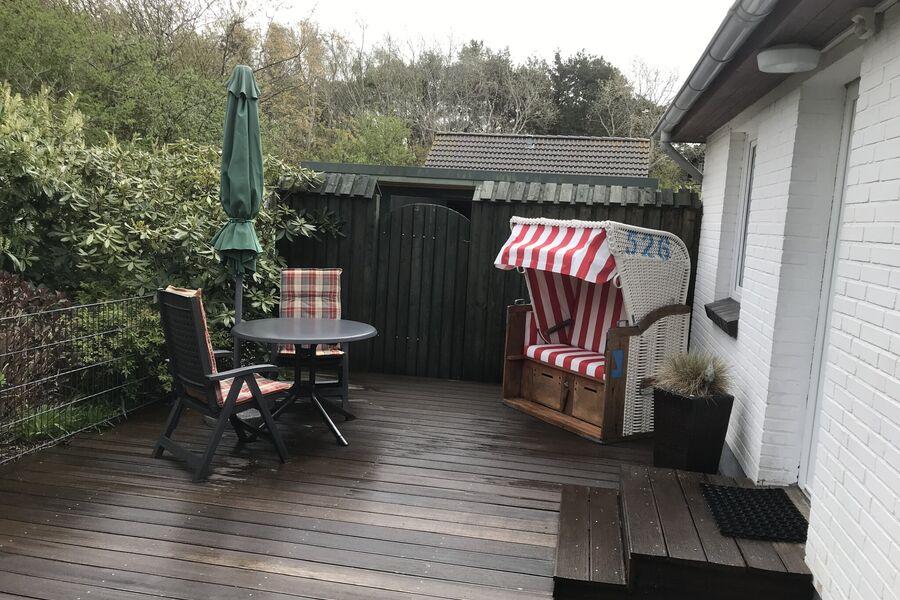 Das Häuschen mit Terrasse