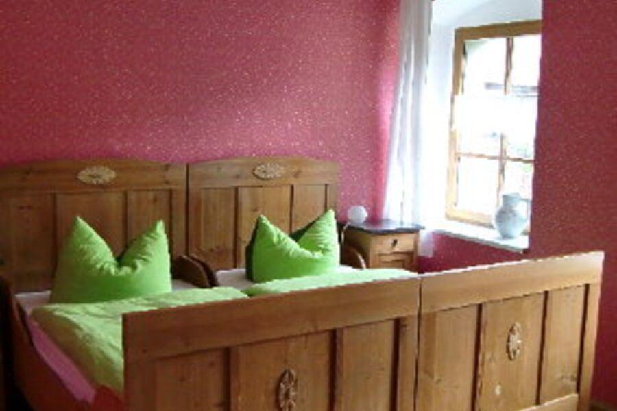 Romantisches Schlafzimmer, Betten 1,90 m
