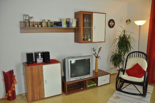 wohnzimmerschrank mit fernseher
