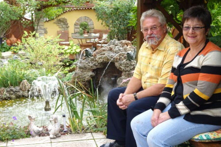 Ehepaar Heidrun und Dieter Eichner