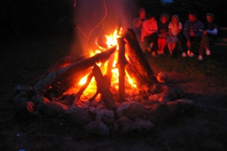 Lagerfeuer immer am Mittwoch