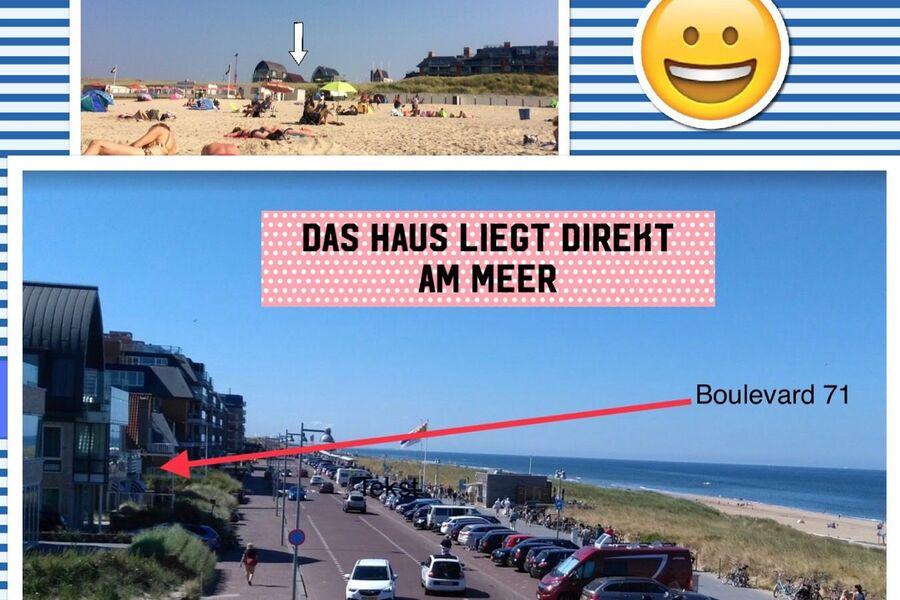 Also direkt am Meer....!