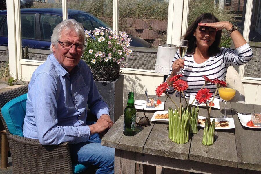 John en Ineke mit Ferien im Winterpause
