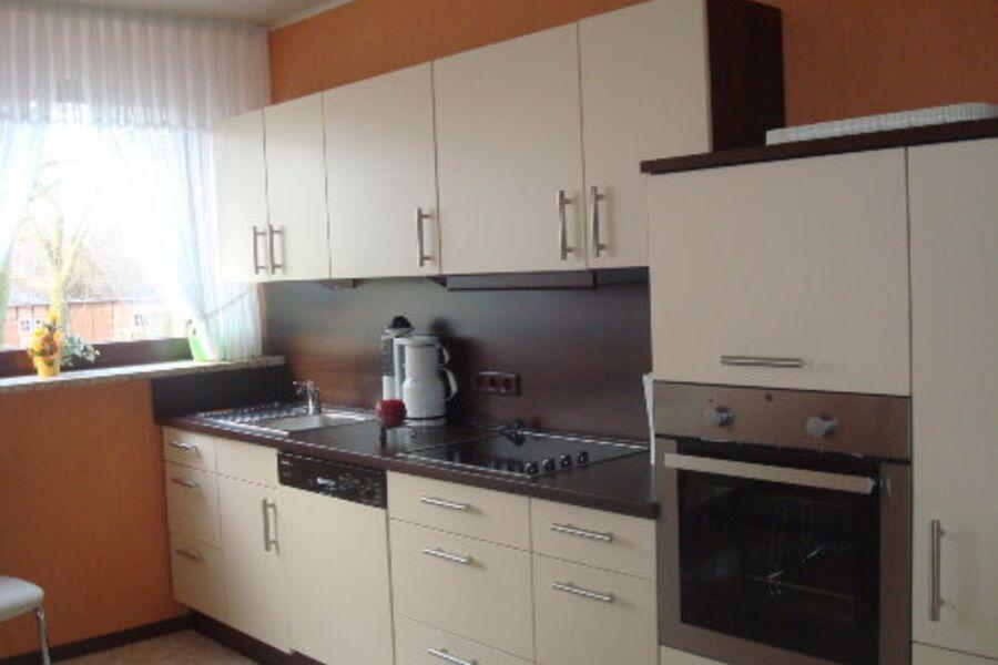 neue Küche voll ausgestattet